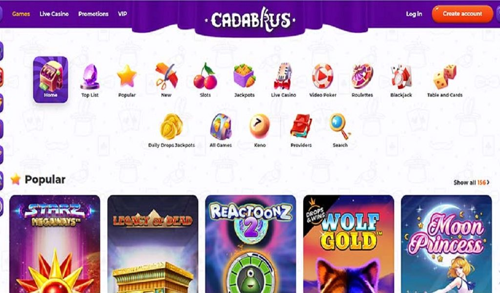 Casino Cadabrus